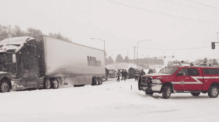 Montana Highway Patrol records 314 crashes statewide in last