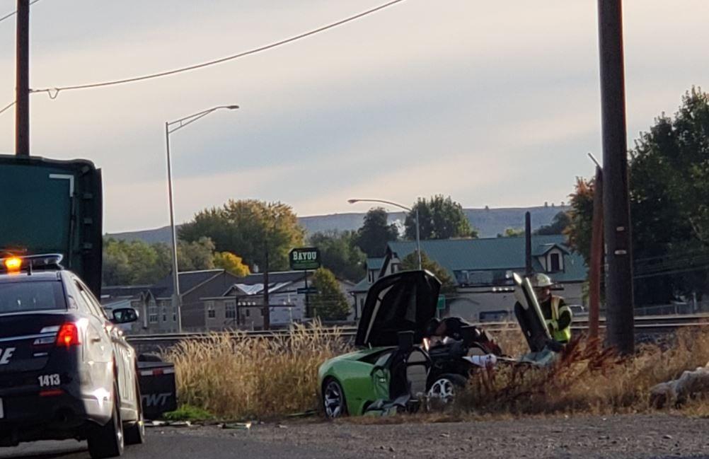 King Avenue crash